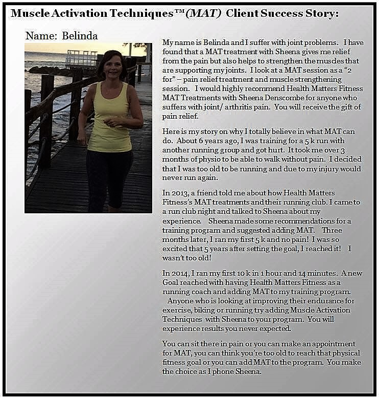 Client Success Story - Belinda