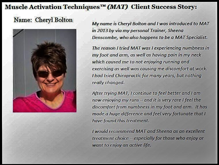 Client Success Story - Cheryl